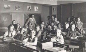Klassenfoto uit 1948